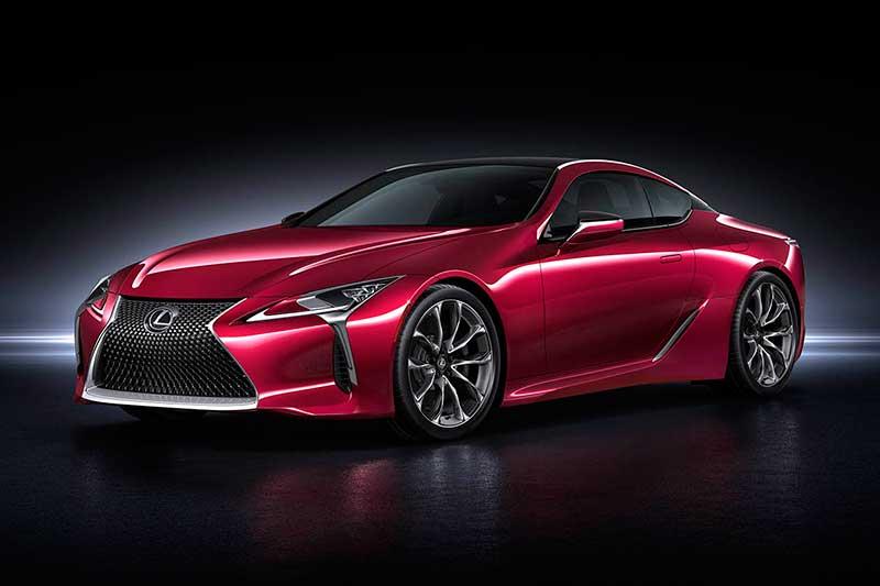 Lexus onthult spectaculaire coupé LC 500