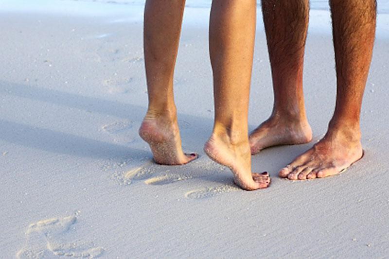 verzorgde voeten