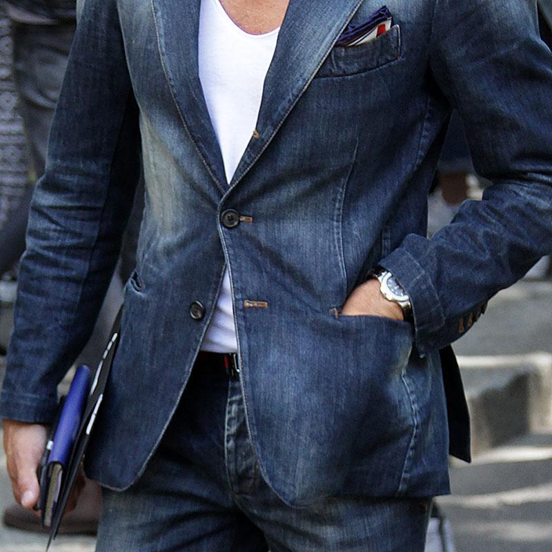 Total jeans look