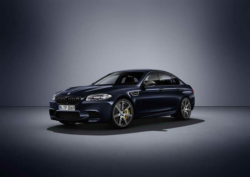 De BMW M5 Competition Edition