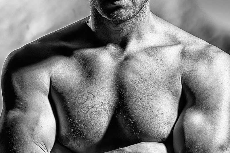 Body grooming. Ontharen voor mannen