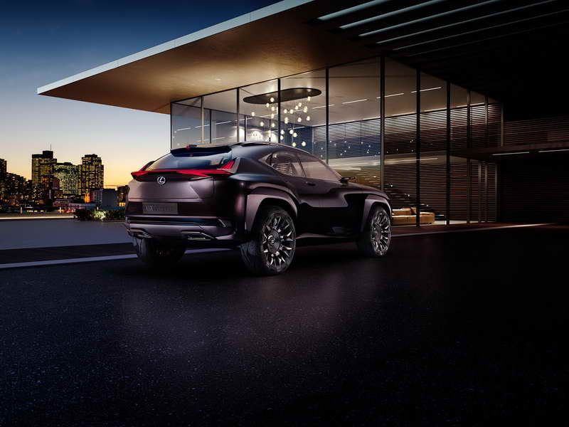 Lexus onthult Lexus UX Concept op Paris Motor Show