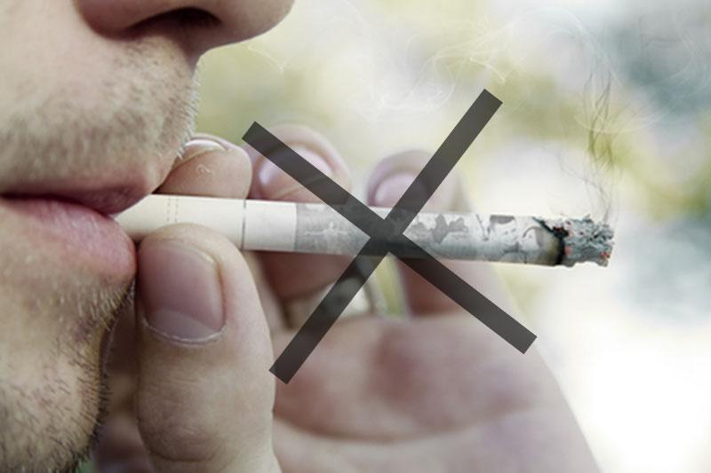 Acne en roken