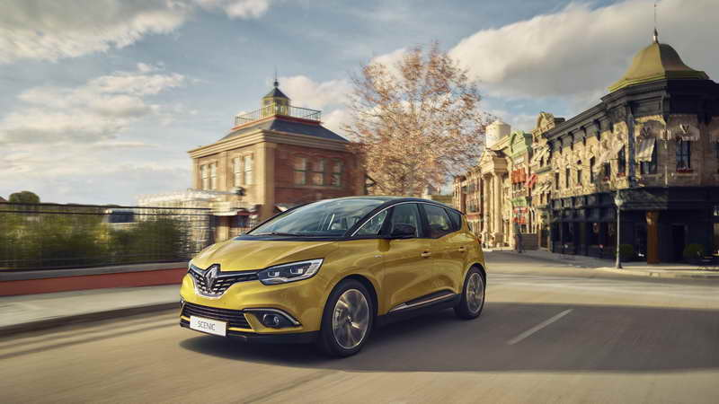 Nieuwe Renault Scénic