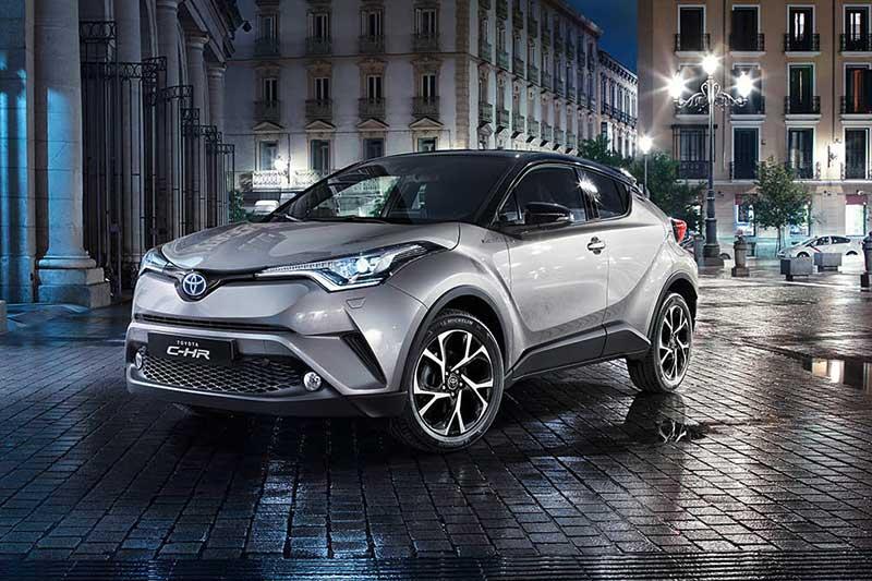 Toyota C-HR: eerste compacte crossover van Toyota