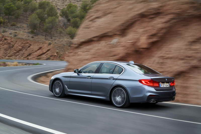 De volledig nieuwe BMW 5 Serie Sedan
