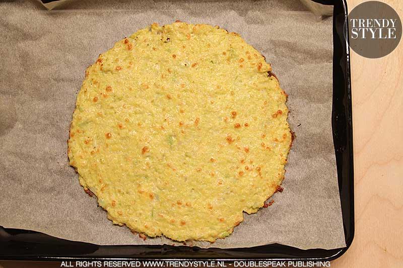 Pizza met bloemkoolbodem