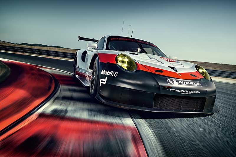 Porsche 911 RSR: nieuw concept voor LM-GTE-klasse