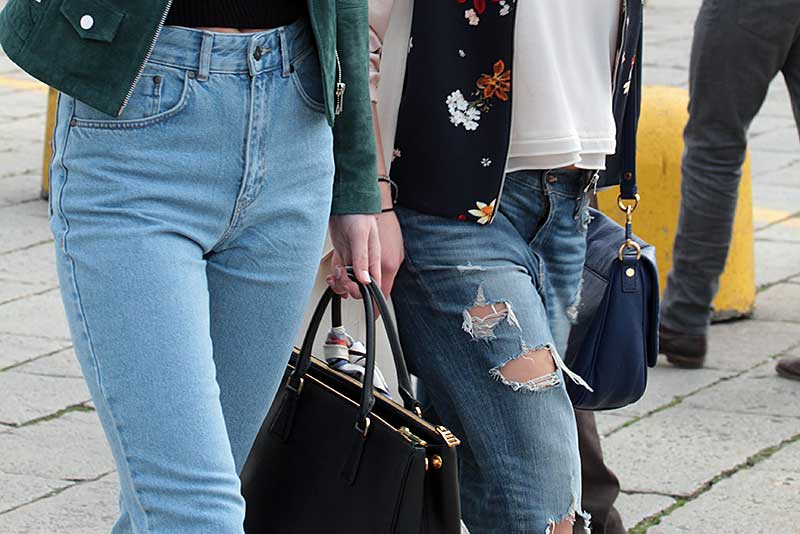 Jeans: hoge of lage taille?