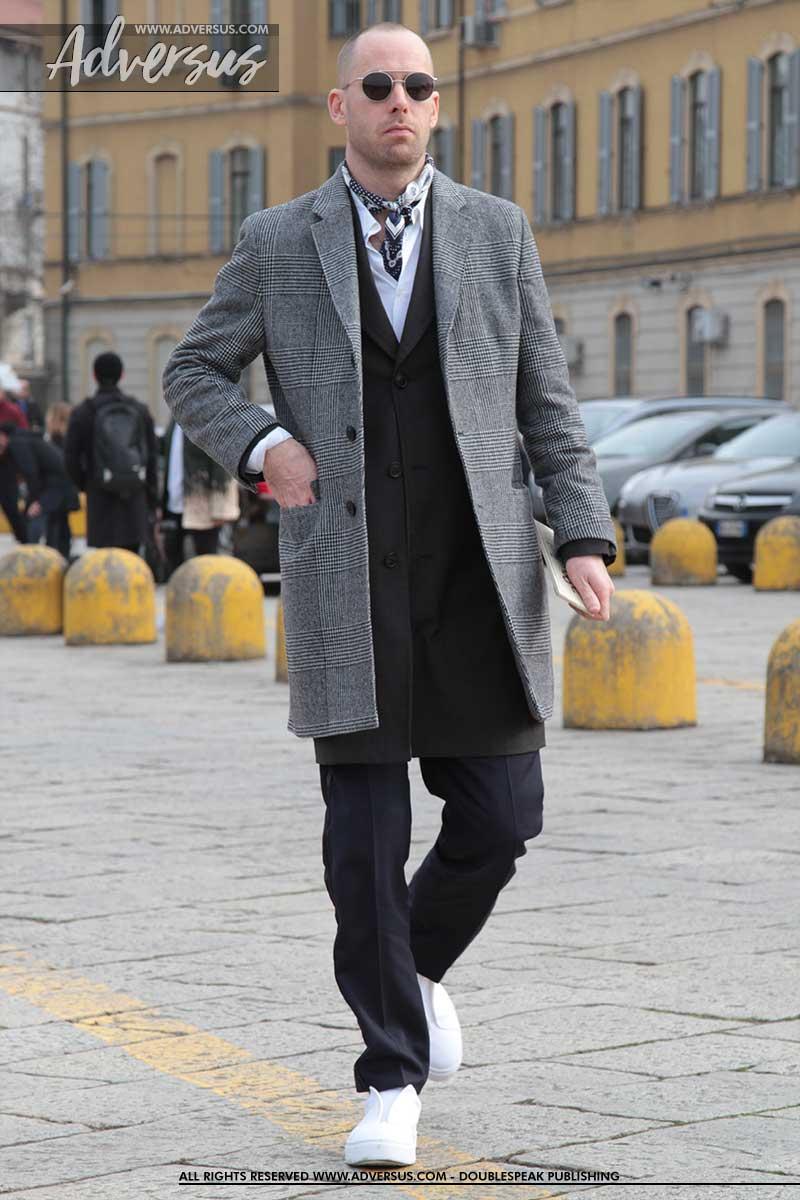 Streetstyle: driekwart jas
