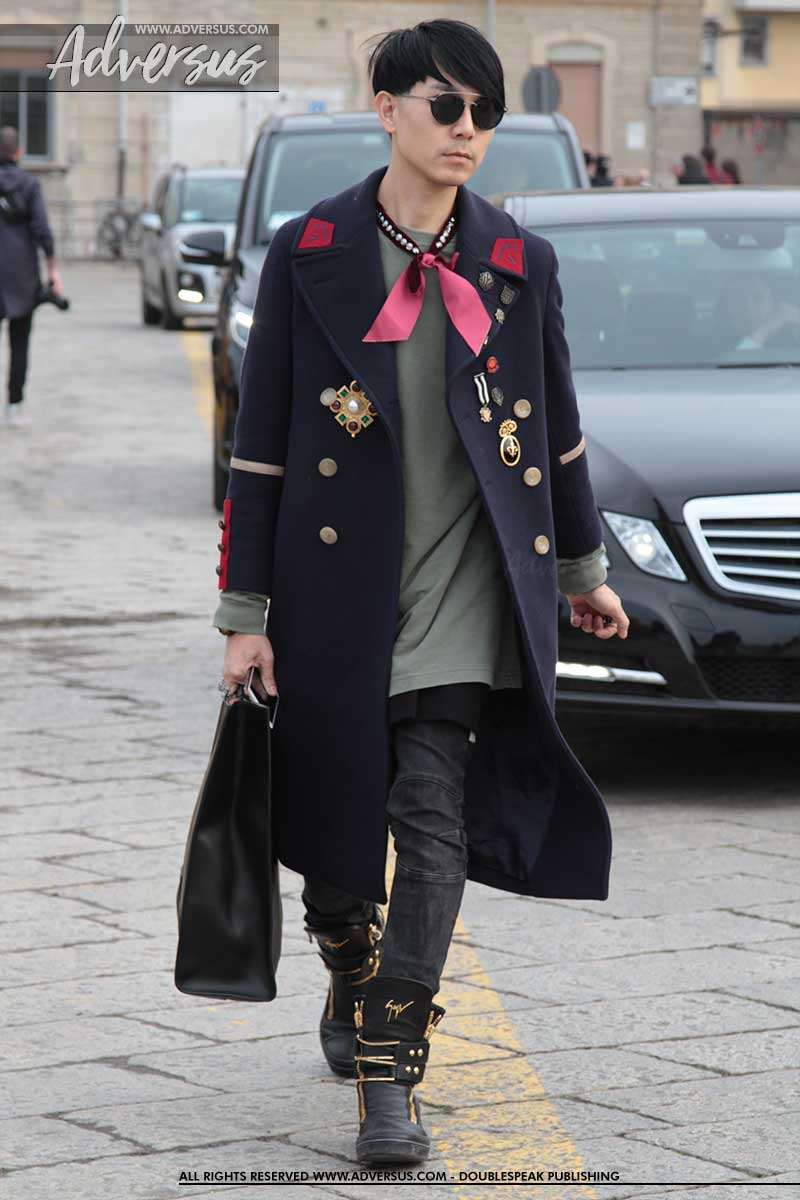 Streetstyle: fashionista rock look