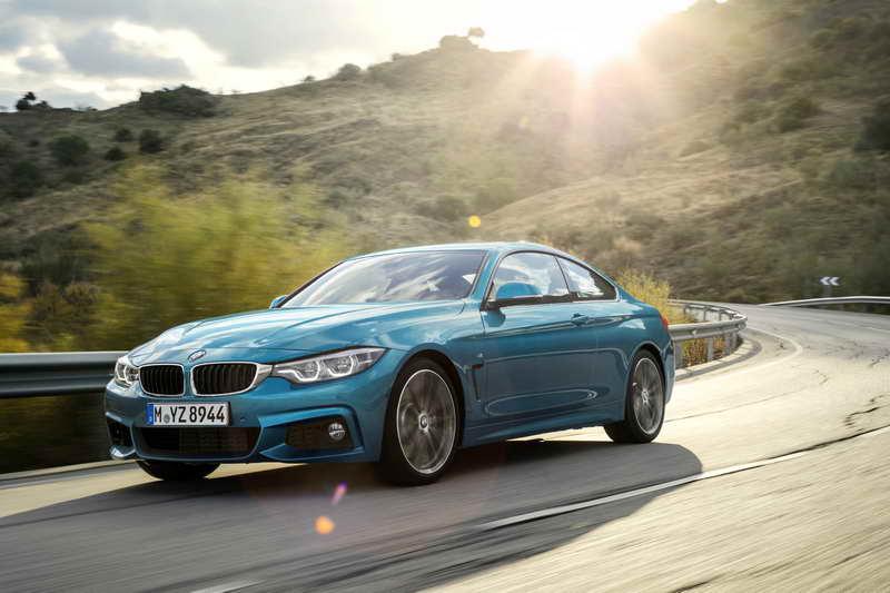 De vernieuwde BMW 4 Serie. Scherpere vormgeving en herziene wielophanging