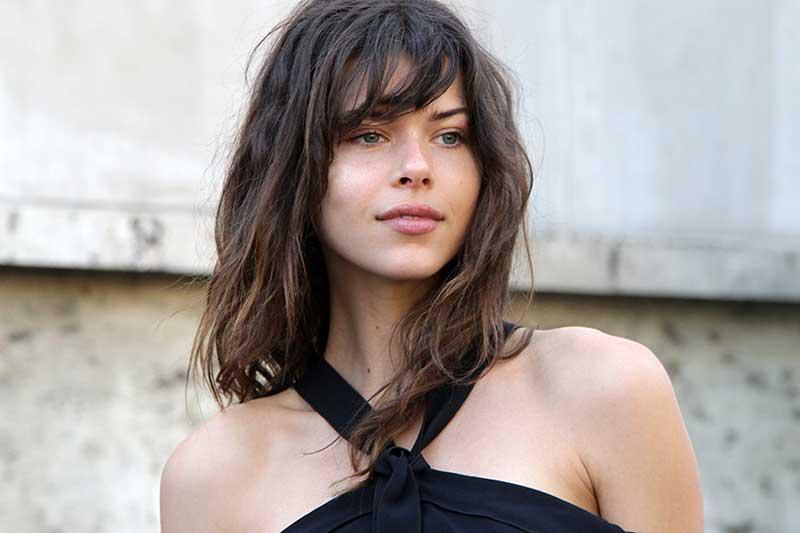 Grunge kapsel voor lang haar