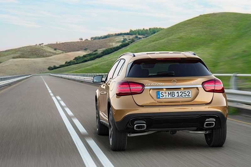 De nieuwe Mercedes-Benz GLA: de compacte SUV heeft een fitnesskuur ondergaan