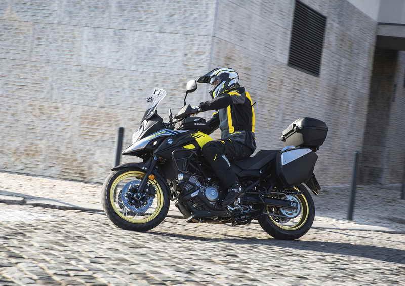 De nieuwe Suzuki V-Strom 650A