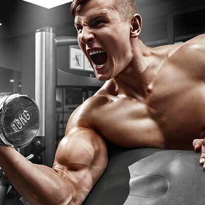 Sterke en stevige biceps met concentrated bicep curls