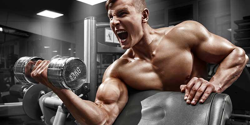 Sterke en stevige biceps met concentrated bicep curls