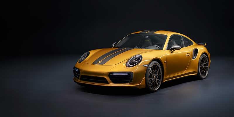 Een zeldzaamheid met extra power en luxe: de Porsche 911 Turbo S Exclusive Series