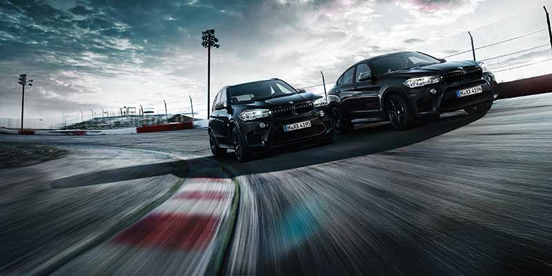 BMW X5 M en X6 M Black Fire Edition