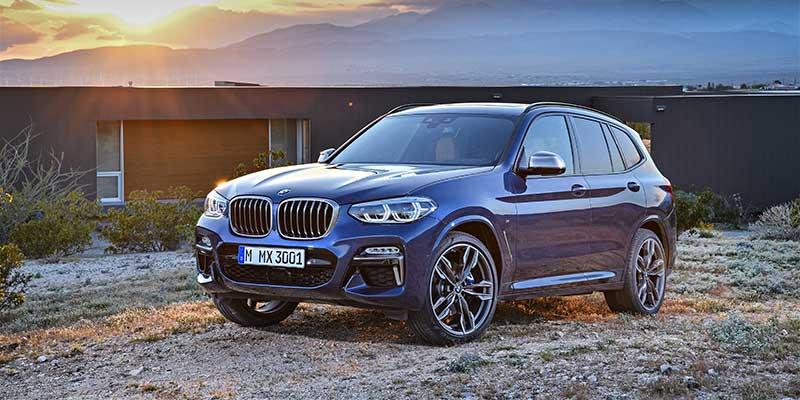 De nieuwe BMW X3