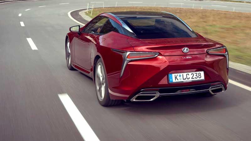 Lexus LC: hightech premium coupé met supercar DNA