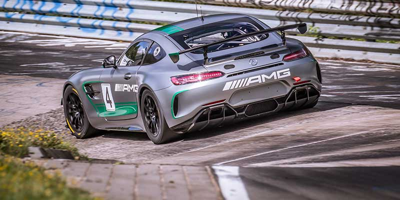 Mercedes-AMG GT4 start voor het eerst op de Nürburgring-Nordschleife