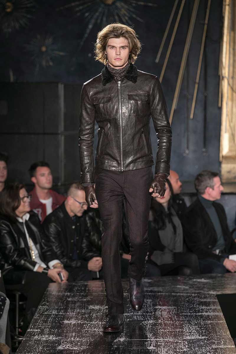 Mode man winter 2017 2018. Leren jacks