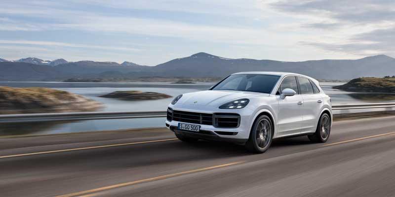 Nieuwe Porsche Cayenne Turbo. Extra gepeperd