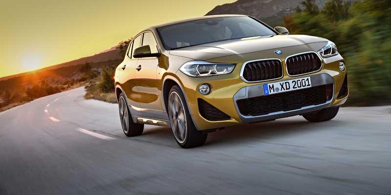 De nieuwe BMW X2. Opvallend design, introductie van Model M Sport X