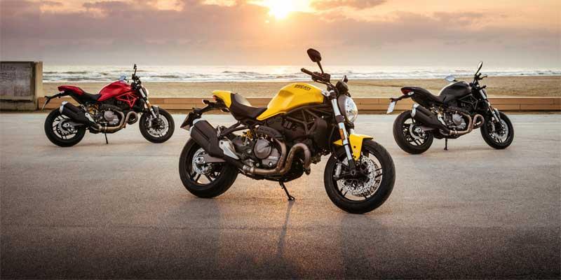 Ducati onthult zijn vernieuwde Monster 821: de meest evenwichtige versie van het iconische Monster gamma