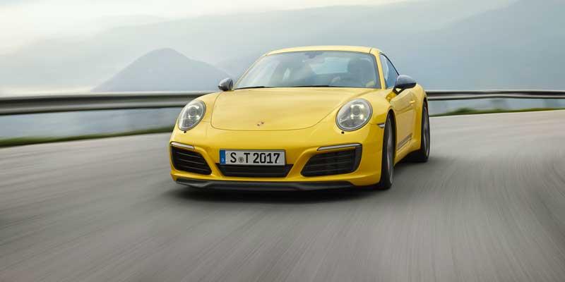 Porsche 911 Carrera T. Minder is meer: de Porsche 911 Carrera T