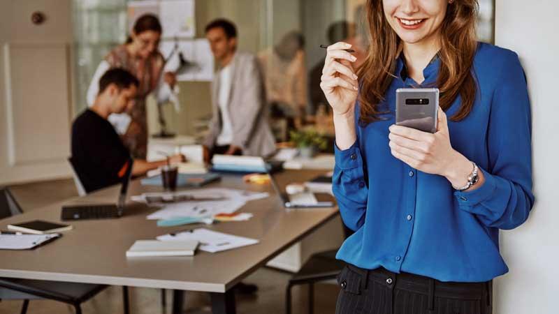 Samsung Galaxy Note8. Fotograferen doe je met de dual camera van de Samsung Galaxy Note8