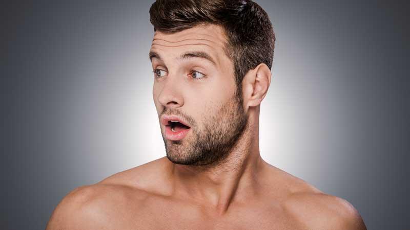 Huidverzorging man