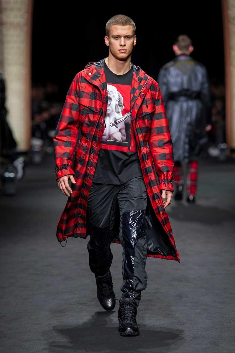 Versace Man Herfst Winter 2017 2018