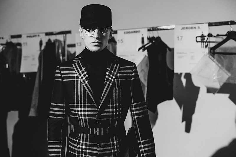Mode. Daks herfst winter 2017 2018, klassieke mode met een moderne twist. Photo: courtesy of Daks