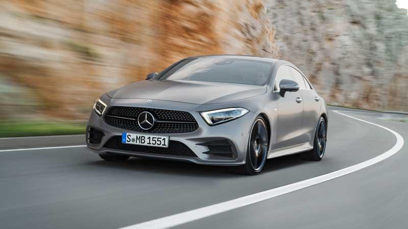 De nieuwe Mercedes Benz CLS