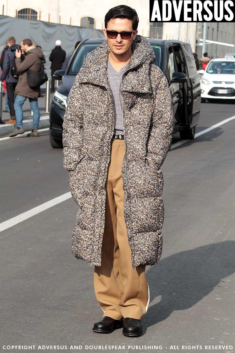 Street style Milan Fashion Week Men's