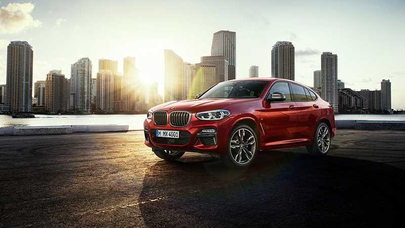 De nieuwe BMW X4