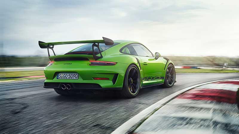 De nieuwe Porsche 911 GT3 RS. Duidelijke focus op autosport