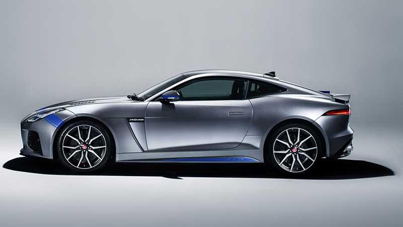 Graphic Pack Accentueert Oerkracht Van Jaguar F-Type Svr