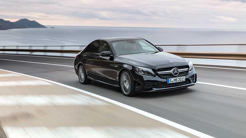 De nieuwe Mercedes-AMG C 43 4MATIC