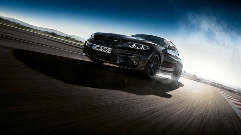 De BMW M2 Coupe Edition Black Shadow