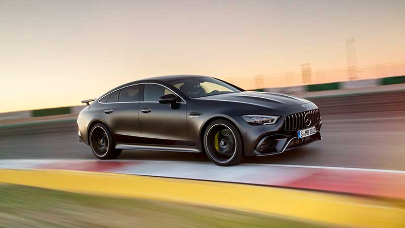 Mercedes-AMG GT 4-Door Coupé - performance meets design