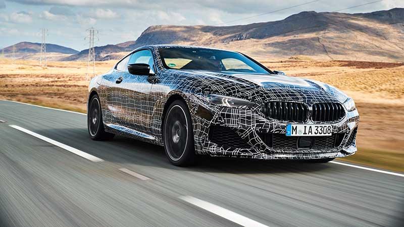 De nieuwe BMW 8 Serie Coupé