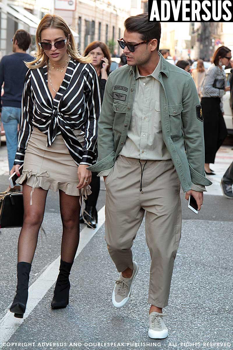 Street style mode man zomer 2018. Zo trendy is kaki!