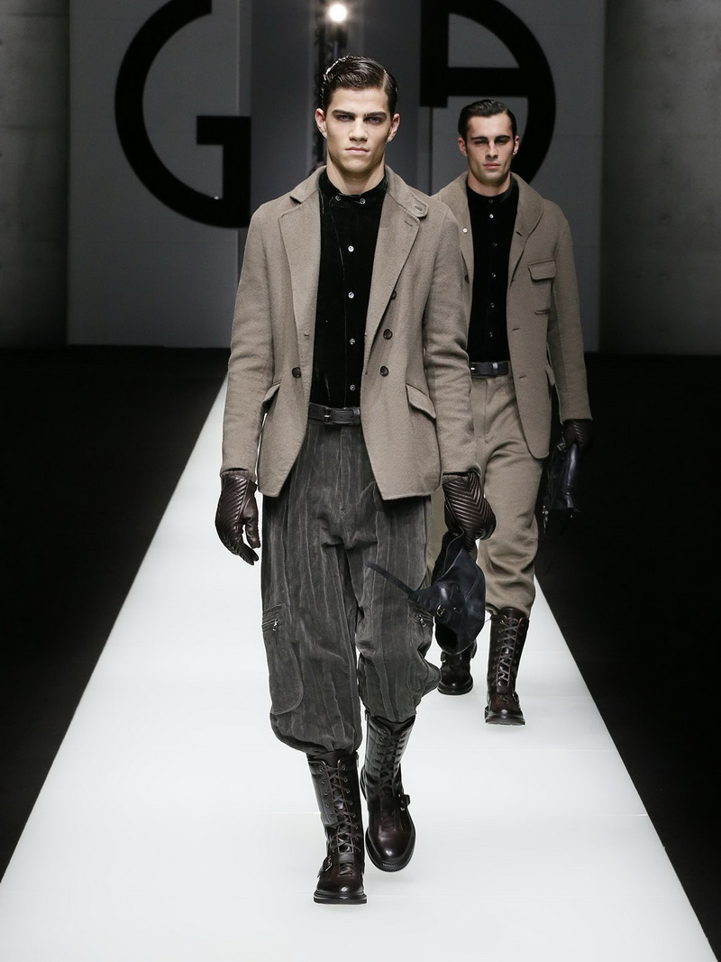 Giorgio Armani herencollectie herfst winter 2018 2019
