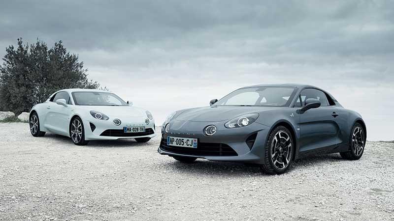 Nieuwe Alpine A110 Pure en A110 Légende op Concours d'Elégance Paleis Het Loo