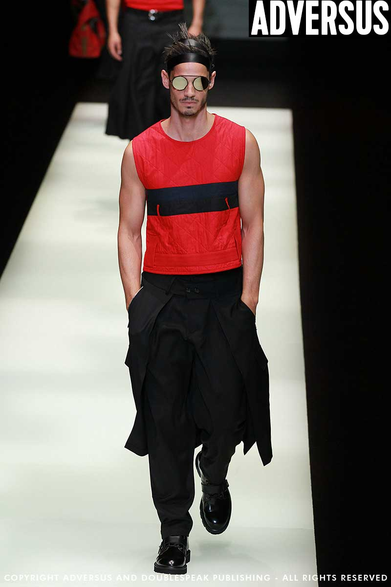Heren mode 2018. Emporio Armani zomer 2018