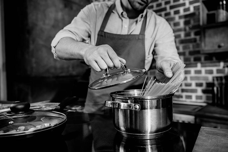 Pasta koken op z'n Italiaans