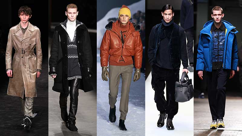 Herenmode. De mode trends voor herfst winter 2018 2019